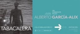 Tabacalera Promoción del Arte. Anuncio para Metro. Alberto García Alix.