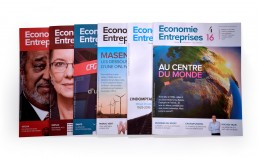 Revista Economie Enterprises, cubiertas.