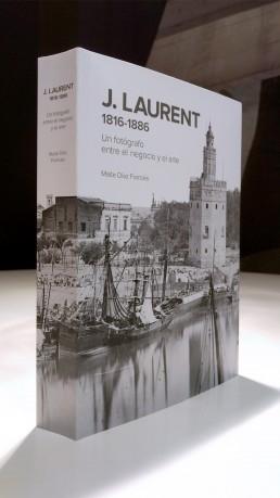 Publicación J. Laurent. Cubierta.