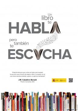 Feria del libro, cartel.