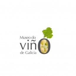 Museo do Viño (museo del vino). Logotipo treixadura, variante.