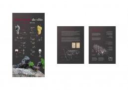 Museo do Viño (museo del vino). Gráfica de paneles.