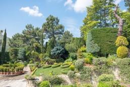 Casa en El Escorial. Jardín.