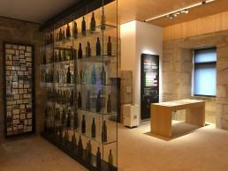Botellero. Museo del Vino. Ribadavia.
