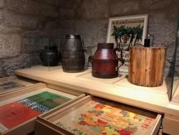 Piezas. Museo del Vino. Ribadavia.