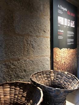 Cestas para uva. Museo del Vino. Ribadavia.