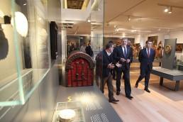 Museo Nacional de las Peregrinaciones y De Santiago. Inauguración.
