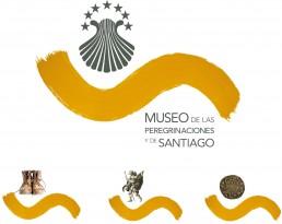Museo de las Peregrinaciones y de Santiago. Identidad visual (logotipo).