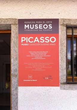 Espacios del Arte. Placa Picasso.