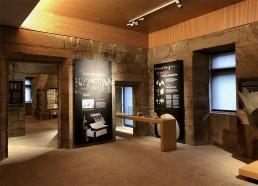 Paneles. Museo del Vino. Ribadavia.