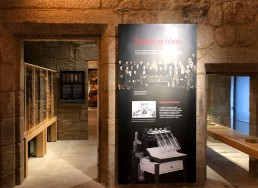 Panel. Museo del Vino. Ribadavia.