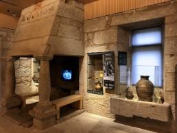 Audiovisual y piezas. Museo del Vino. Ribadavia.