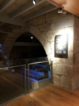 Balcón de lagar. Museo del Vino. Ribadavia.