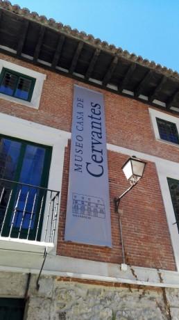Museo Casa de Cervantes. Banderola.